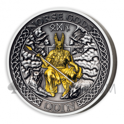 Odin - The Norse Gods Series 1$ 2oz Cook Islands 2021