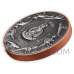 Tyrannosaurus 10 Vatu Vanuatu 2x5g Silver + 145g Copper 2021