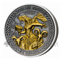 Thor - The Norse Gods Series 1$ 2oz Cook Islands 2020