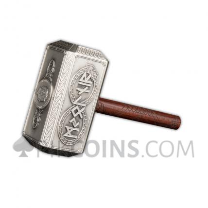 Thor's Hammer 10 Dollars 500g Solomon Islands 2021