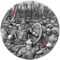 Leonidas - Great Commanders 5$ 2oz Niue 2019