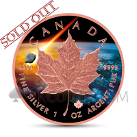 Maple Leaf 5 CAD 2018 - Abee Meteorite - Atlas of Meteorites