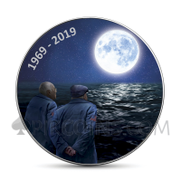 Moon Landing Nostalgia - American Eagle 1$ 2019 (Glow in the dark)
