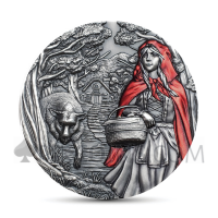 Little Red Riding Hood Cook Islands 20$ 2019