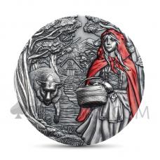 Little Red Riding Hood Cook Islands 20$ 2019
