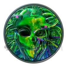 The Alien 20$ 3oz Palau 2021