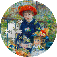 Two Sisters - Micropuzzle Treasures 20$ Palau 3oz 2020