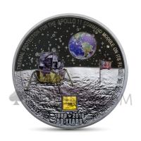 Moon Landing Apollo 11 50th Anniversary 20$ Cook Islands 2019