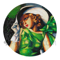 Young Girl in Green 20$ 3oz Palau 2021