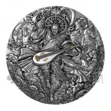 Chiguotian - Four Heavenly Kings Series 5$ 2oz Niue 2021