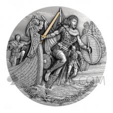 Vikings - Freydis Eiriksdottir 5$ 2oz Niue 2021