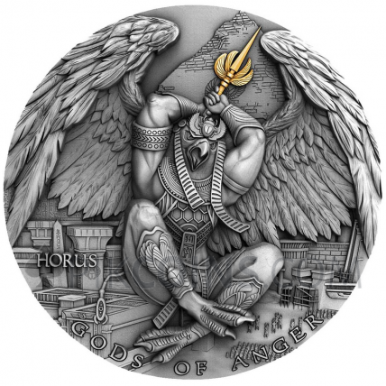 Horus - Gods of Anger 5$ 2oz Niue 2020