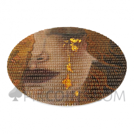 Gustav Klimt Golden Tears - Matrix Art 7$ 3oz Niue Island 2020