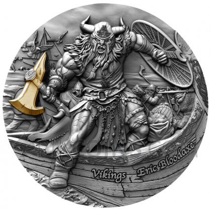 Vikings - Eric Bloodaxe 5$ 2oz Niue 2020