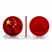 Panda Chinese Flag 10 Yuan 30g China 2021