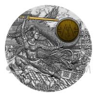 Warrior Women Mulan 5$ 2oz Niue 2021