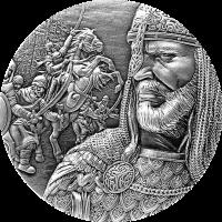 Saladin 10000 Francs CFA 2oz Republique du Tchad 2021