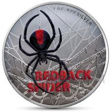 Redback Spider 1 AUD 2020 - Coloured Edition