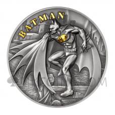 Batman 10$ 2oz Cook Islands 2021