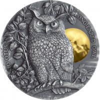 Long Eared Owl 5$ 2oz Niue 2019