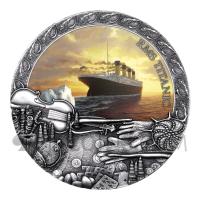 Titanic - Grand Shipwrecks in a History 5$ 2oz Niue 2020