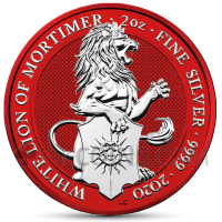 White Lion of Mortimer 5 £ 2020 - Space Red