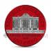 Wiener Philharmoniker 1,5€ 2019 - Space Red