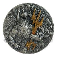 Zeus - Gods Series 2$ 2oz Niue 2021